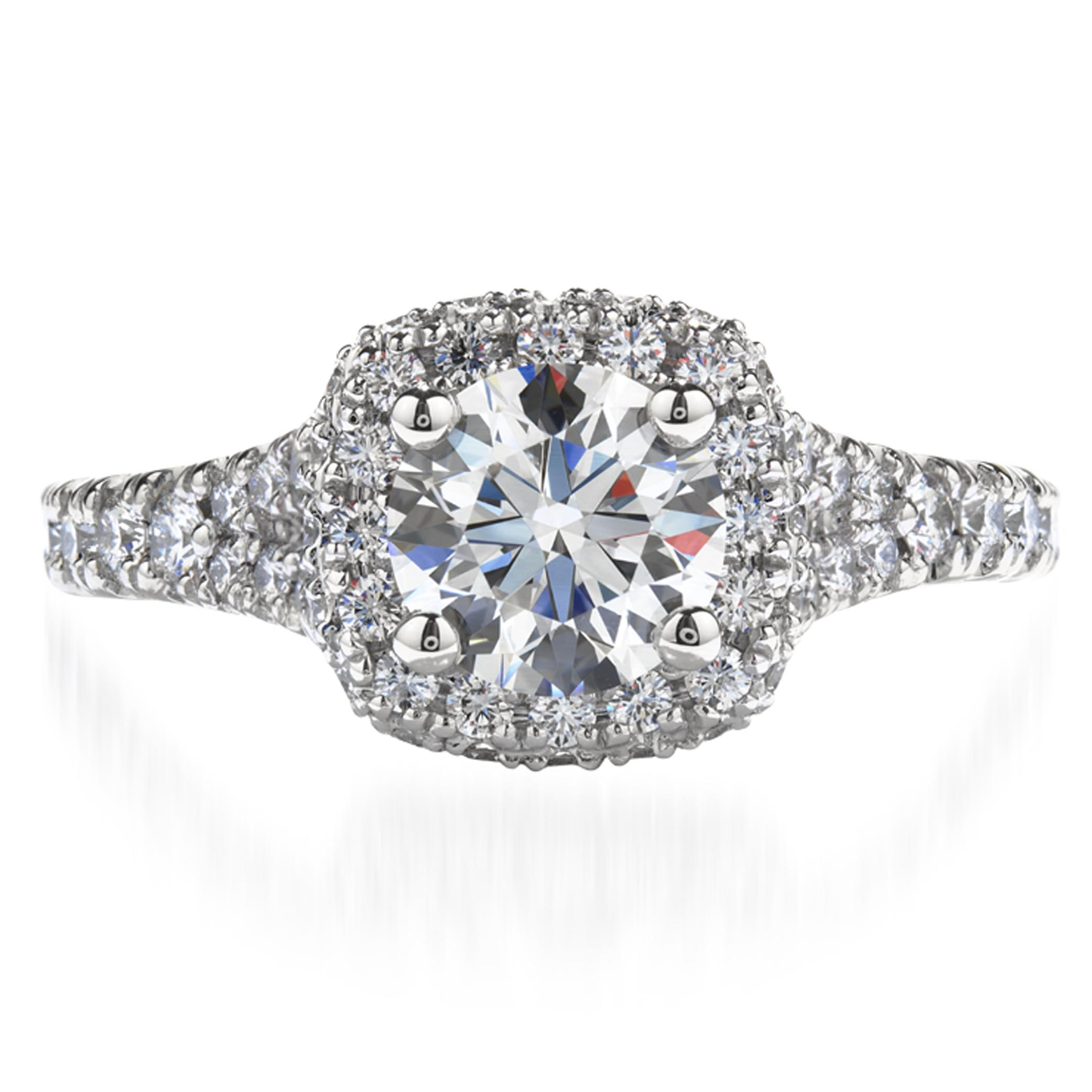 Acclaim Platinum Engagement Ring