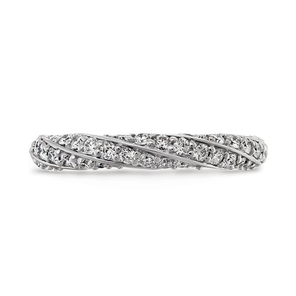 Atlantico Pave Wedding Rings
