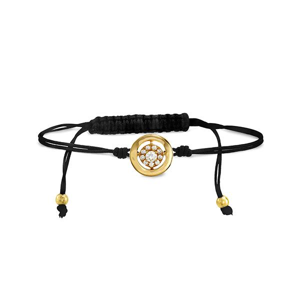 Inspiration Cord Bracelet Yellow Gold