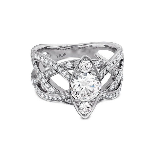 Intertwining Regal Engagement Ring