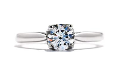 Simply Bridal Leaf Engagement Ring