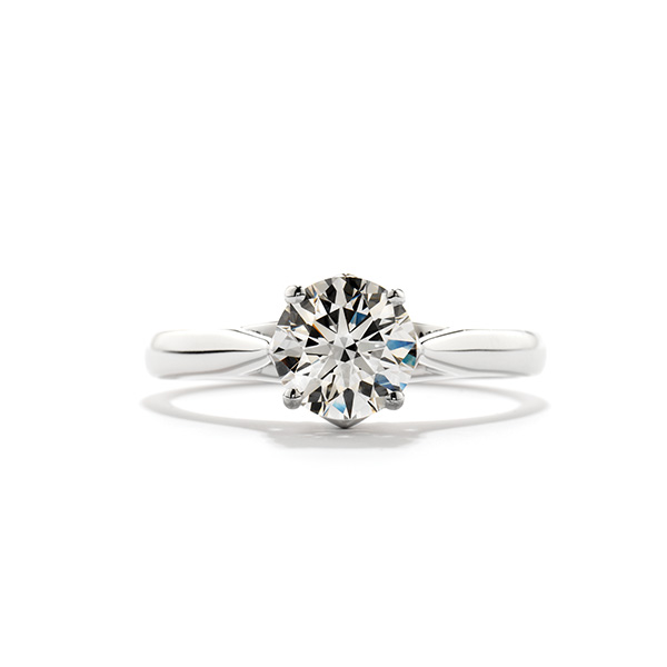 Simply Crown Engagement Ring