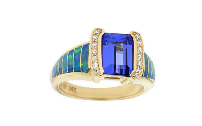 Gemstone Ring For Purchase At A Jewelry Store Image - Lincroft Village Jewelers