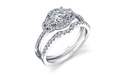 Classic Petite Three-Stone Diamond Engagement Ring