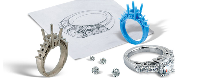 Jewelry Special Request Orders Customized Diamond Ring Settings