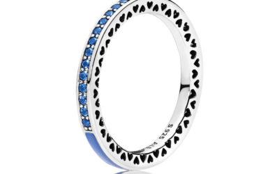Radiant Hearts of PANDORA, Princess Blue Enamel & Royal Blue Crystals
