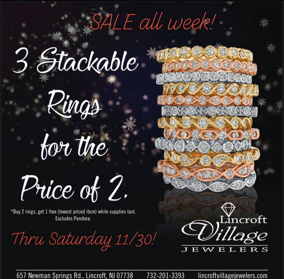 Holiday Jewelry Sale, NJ